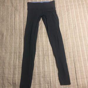 Lululemon Full Length Dark Gray Leggings